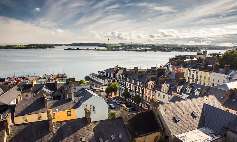 Cobh cityscape