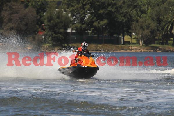 2014 02 02 Jet Sports Aussie Champs WA Runabout Stock Pro-Am Moto 1