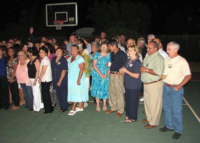 40 year Class Reunion - Class of 1968 - Aug 2008 - Live Oak High School