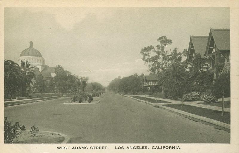 West Adams Street, Los Angeles, California