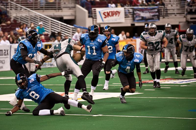 Sports-Football-Arkansas Twisters vs Bozier City 032809-42