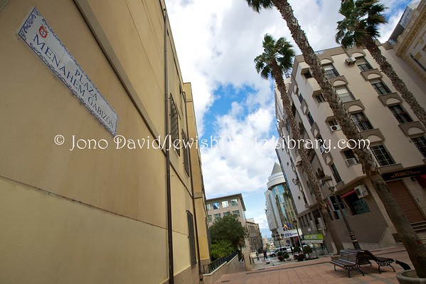 CEUTA (Spain). Jewish-named streets and plazas