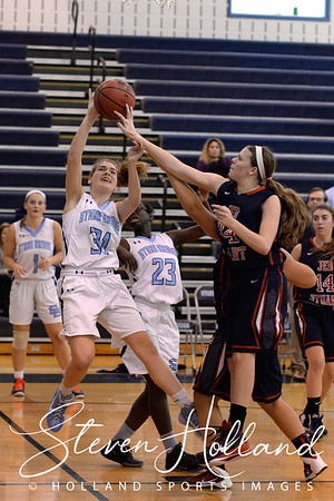 Girls Basketball - Varsity: Stone Bridge vs JEB Stuart 12.1.2015 (by Steven Holland)