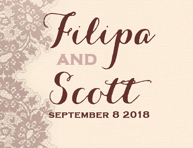 Filipa & Scott 2018