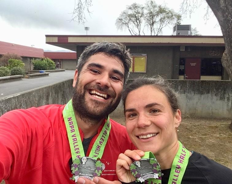 Napa Valley half-marathon