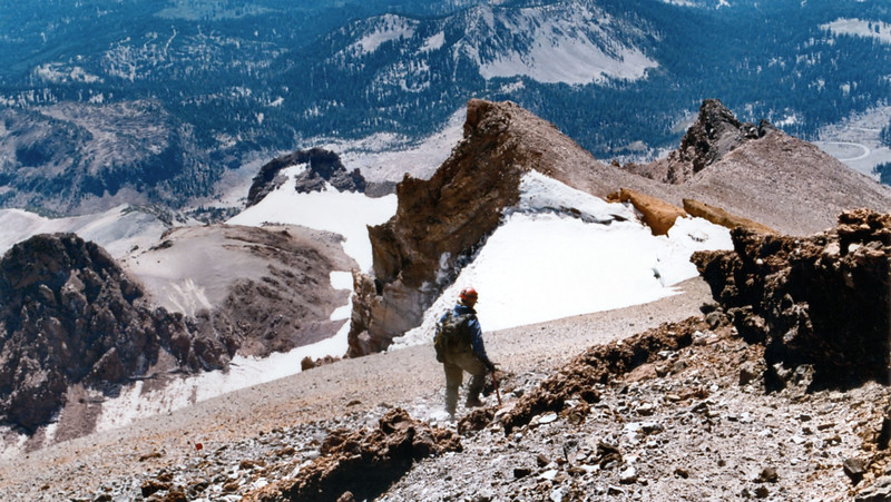 (2001-August 17-19)  Mount Shasta via Disappointment Cleaver.  Shasta-Trinity National Forest, California.