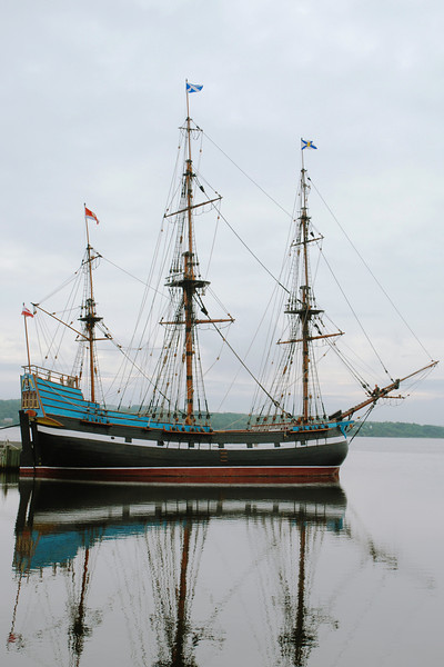 Life size replica of the Hector - Pictou, Nova Scotia