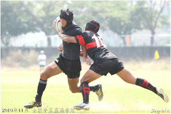 2010年全國中正盃橄欖球錦標賽高中組(Taiwan Chung-Cheng Cup, Senior High School Group)