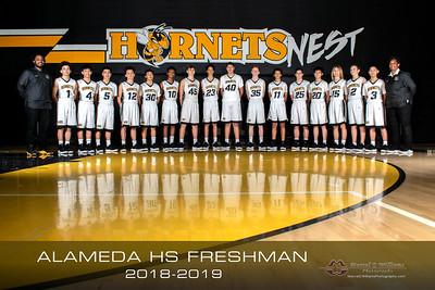 2019 Alameda HS Freshman Basketball