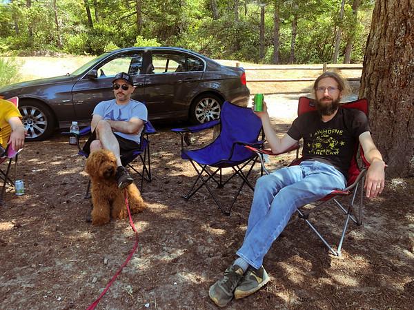 Camping, Eel Creek, Oregon 2019