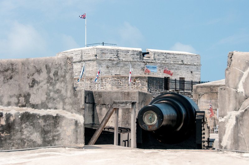 Canon at Fort St. Catherine in Bermuda