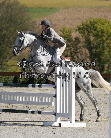 Grand Prix Ring:  High Child/Adult Jumper (Sunday)