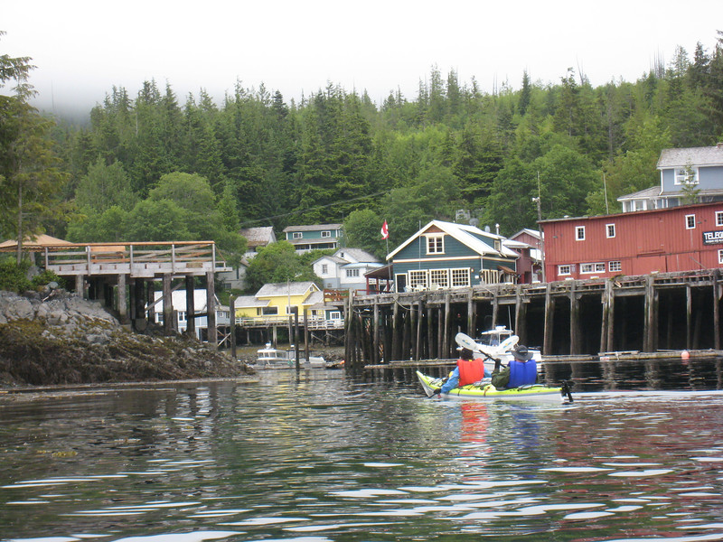 Return to Telegraph Cove.
