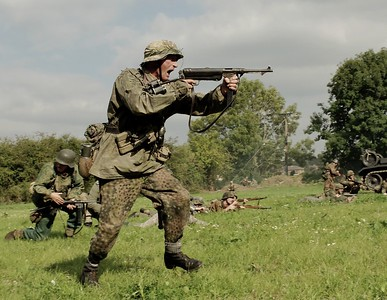 ''OPERATION MARKET BOSWORTH'' THE BATTLE, 18th September 2016