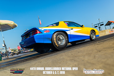 Ohio Valley Dragway - 44th Annual Doorslammer National Open - October 6 & 7, 2018
