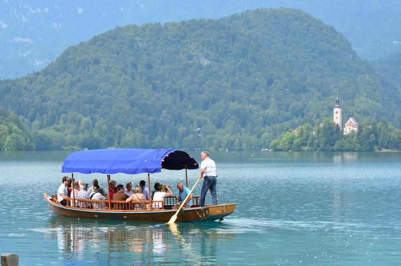 Row Boat. Blejsko jezero, Bled