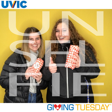 Giving Tuesday @ Uniiversity of Victoria 2019