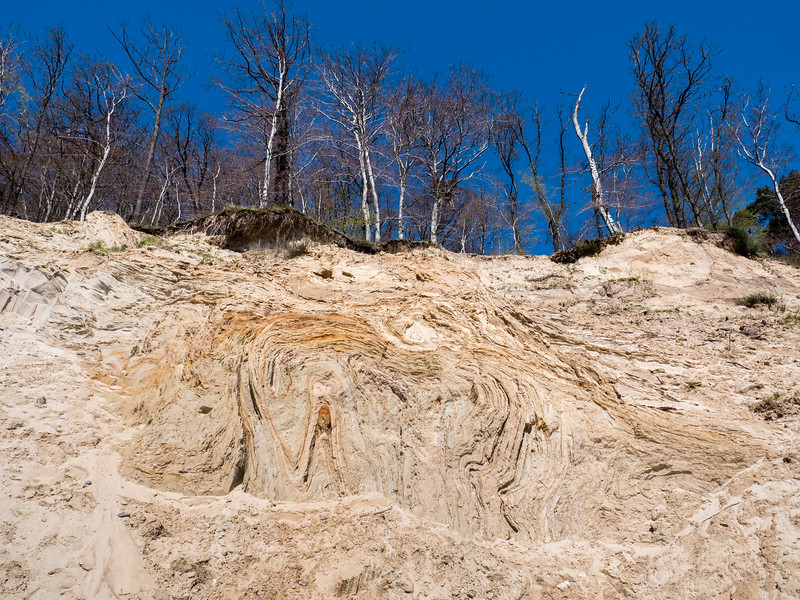 Glacial Caused folding of sediments