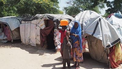 Overcrowded camps & Cholera