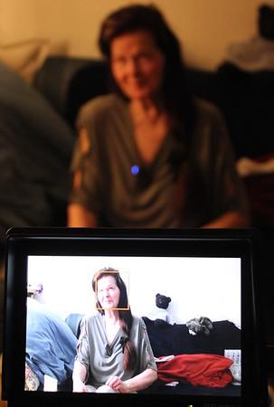 """Fotos vom Filmdreh """"fertiges Intro meiner Mutter gezeigt"""""""
