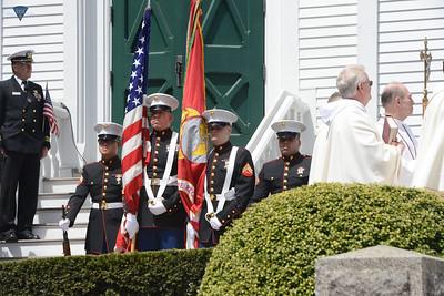 USMC Corporal Christopher Orlando Memorial Service - 042916