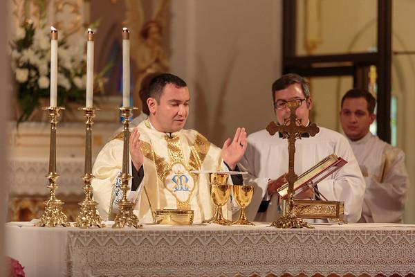 2017 - Mass of Thanksgiving - Father Jacob Mendoza Ordination