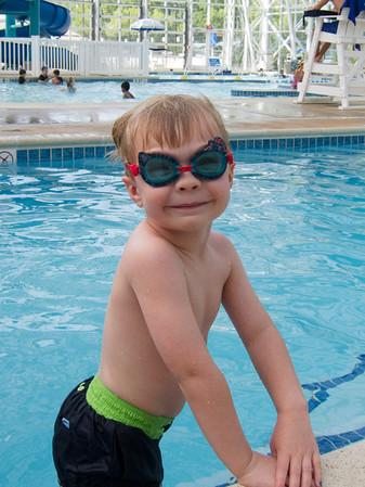 Ethan Swim Lessons - 2012