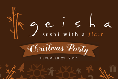 Geisha Sushi Christmas Party 12/23/17