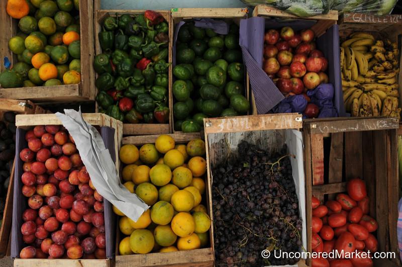 Fruit Boxes in Campo Quijano - Northwestern Argentina