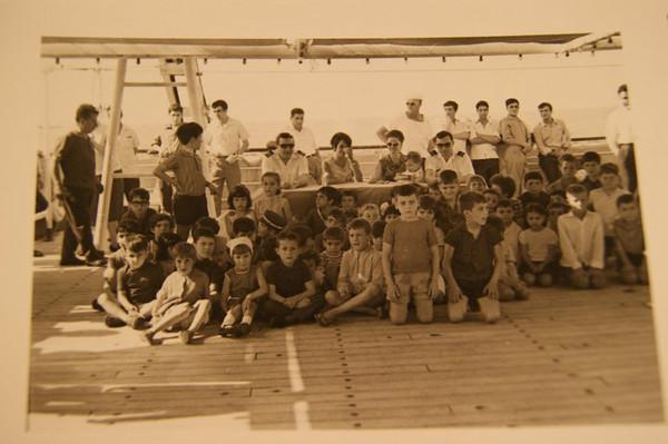 criancas a bordo - filhos de Jose' Salvado