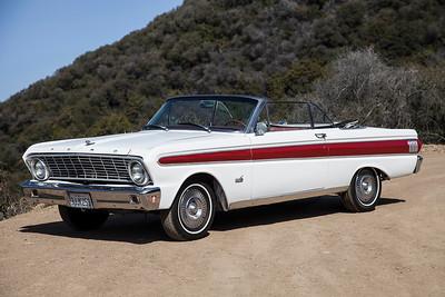 64 Ford Falcon Conv White