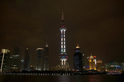 Saturday Night - Night Time Boat Cruise of the Bund Waterfront