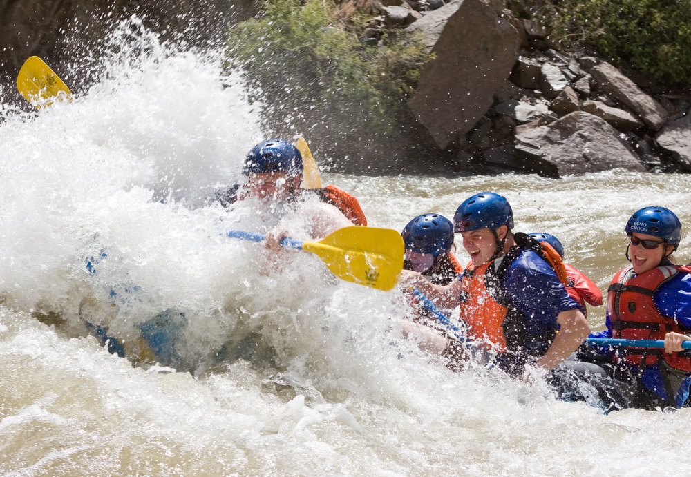 . The Royal Gorge on the Arkansas River is one of the most exciting whitewater experiences in Colorado, taking you deep into the canyon. (Provided by Colorado River Outfitters Association)