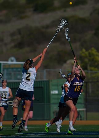 LCC Varsity Girls Lacrosse vs. Amador Valley 4.1.14