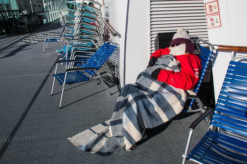 Arctic Sunbathing