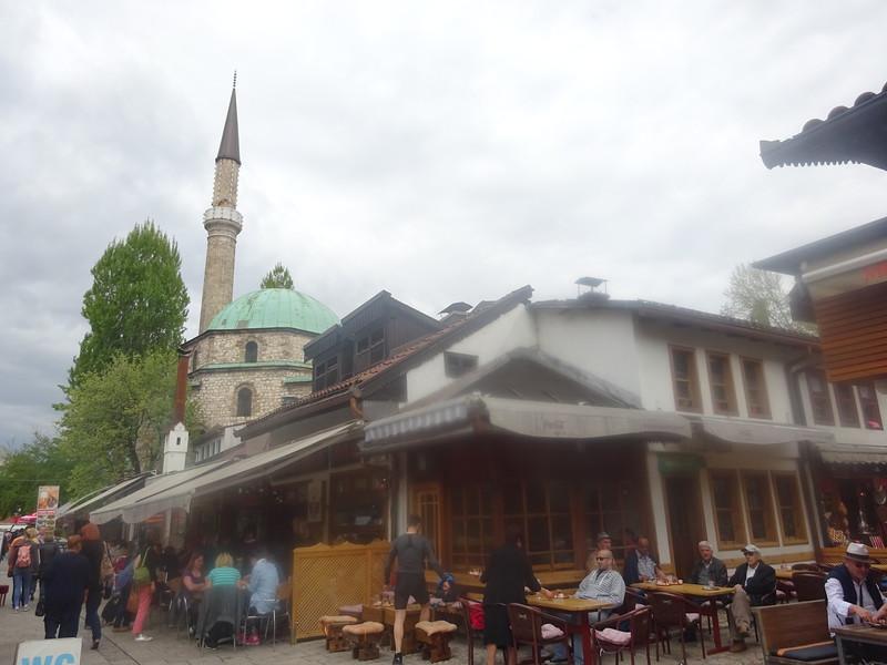 26_Sarajevo. Bascarsija is the heart of Old-Sarajevo.JPG
