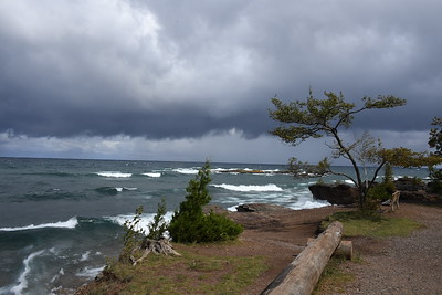 With Friends at Presque Isle, Marquette