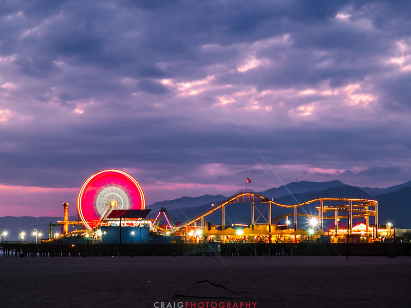 Santa Monica Pier Sunset 4
