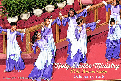 Holy Dance Ministry Anniversary 2016