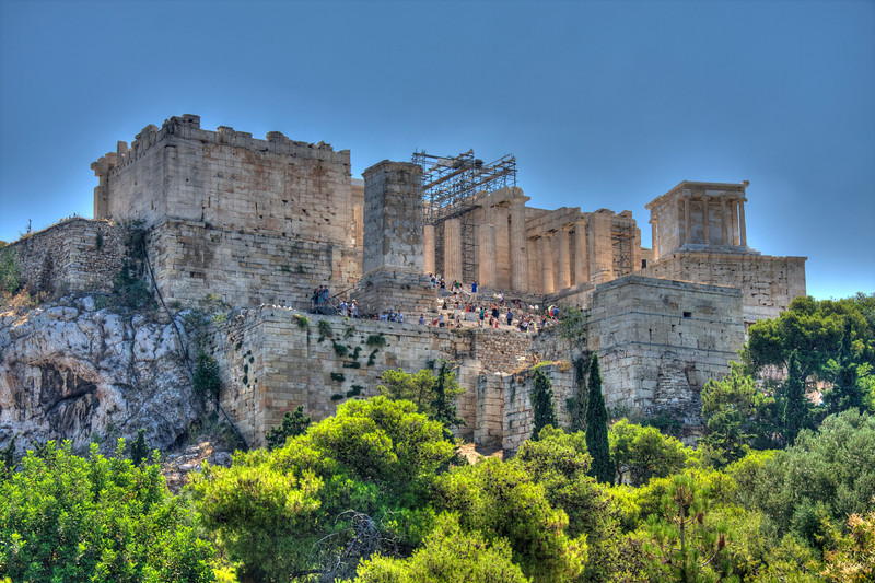 The Propylaea: Gateway to the Acropolis. (HDR)