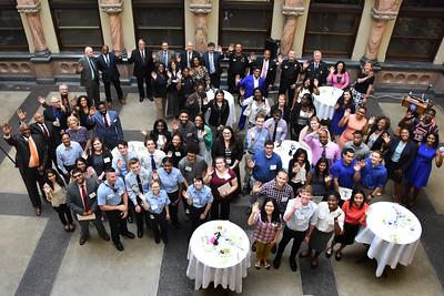 City hosts reception for summer interns. 6/16/2016