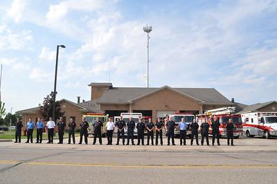 Canton Fire-Ryan Swick Funeral Procession