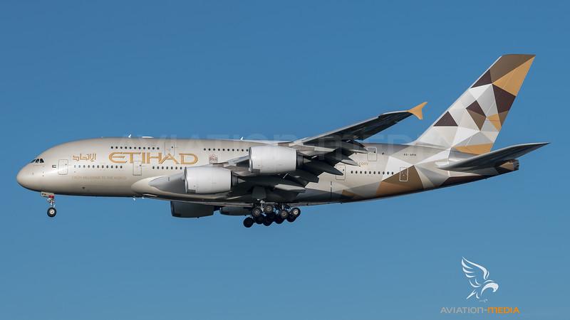 Etihad Airways / Airbus A380-861 / A6-APH