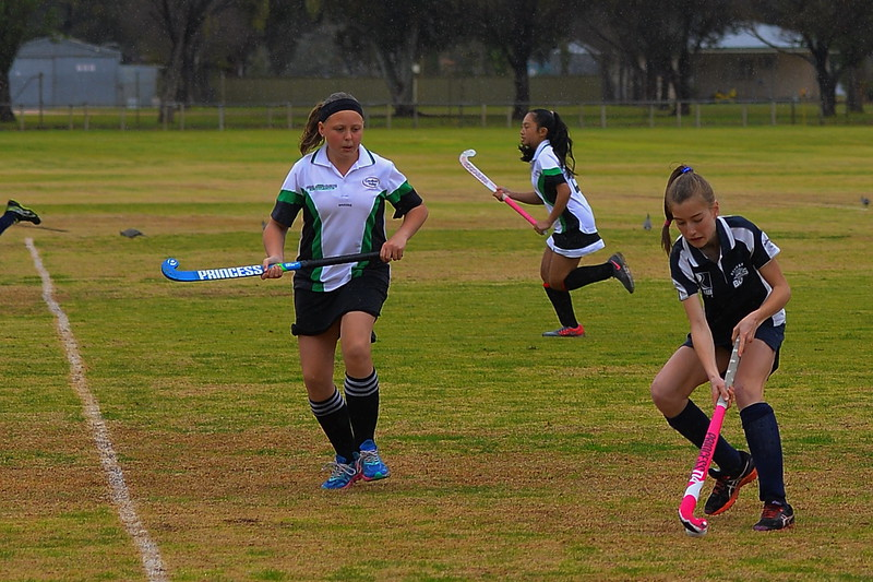 """U18"" Women Waikerie v Renmark (Round 11 In the rain)"