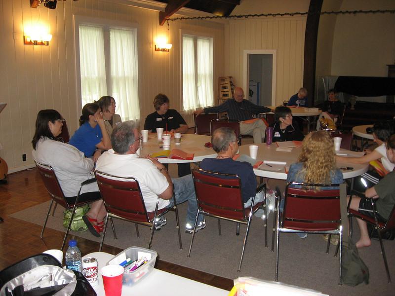 Cursillo leadership training held at St. John's on Saturday, May 9, 2009