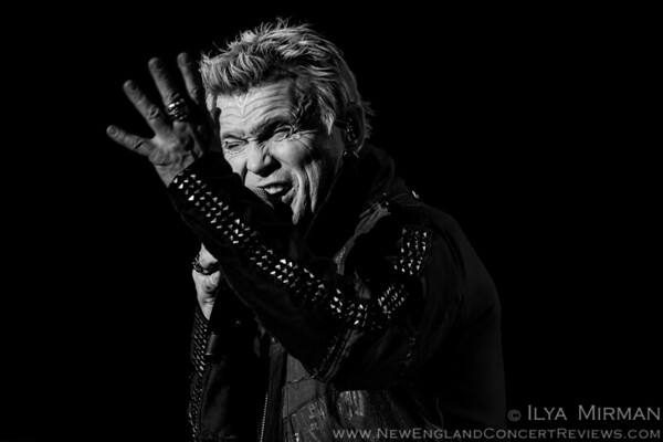 Billy Idol at Lynn Auditorium - MA