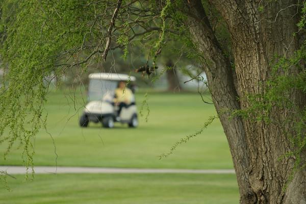 Grandpa Sid Golfing