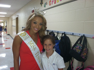 2013 Miss Tennessee Visit