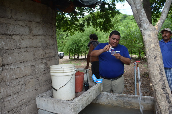 Water Test El Saucito