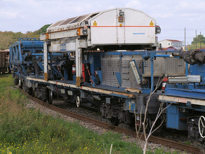 FEA-D - 60 Foot Bogie Flat Wagon